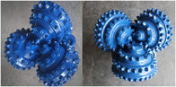 Blue color Steel button 12-1/4 '' IADC537 TCI Roller Tricone Rock Drill Bits Tungsten Carbide Hard Rock