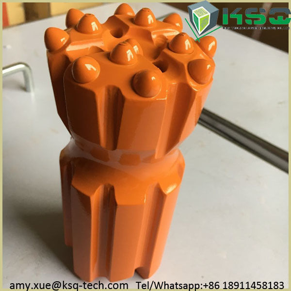 Threaded Jack Hammer Drill Bits For Rock , Rock Drilling Tools