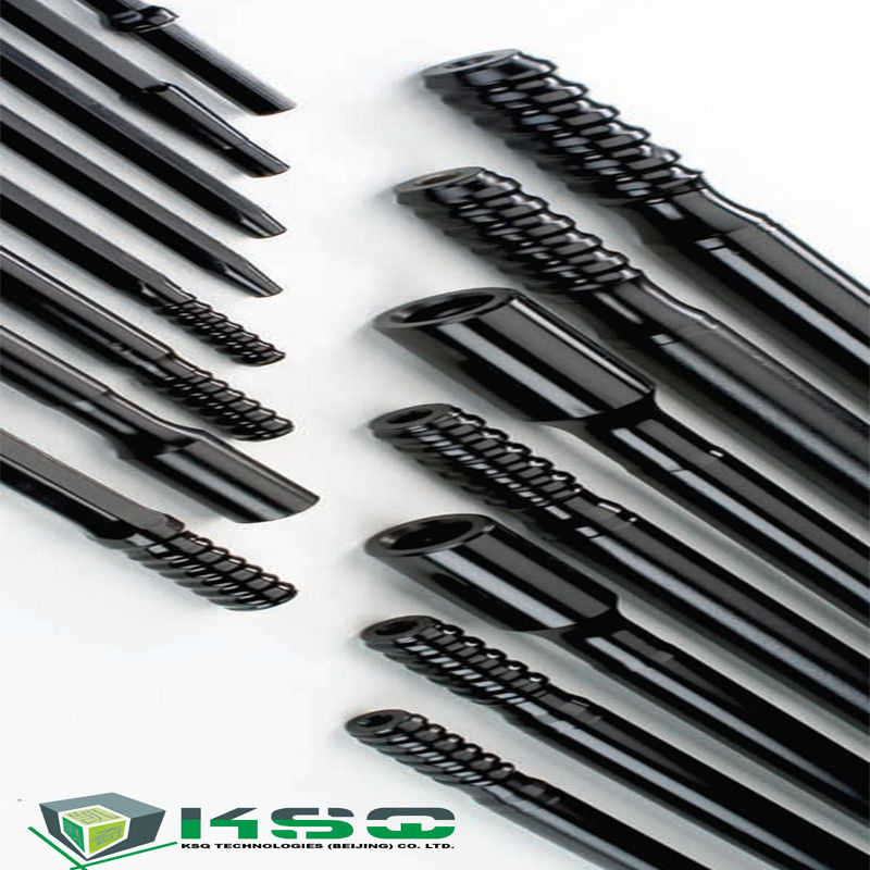 T51 MF 3.66 Meter Threaded Drill Rod Rock Drill Rod Male Female Drifter