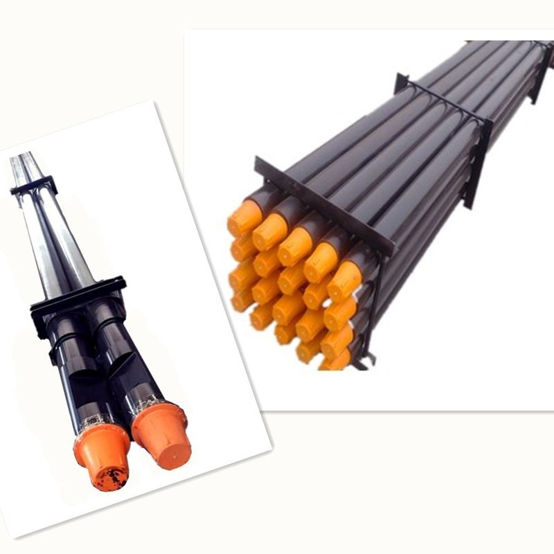 "Friction Welding Rock Drill Tools API 2 3 / 8 "" 1 - 9m Length For Water Well"