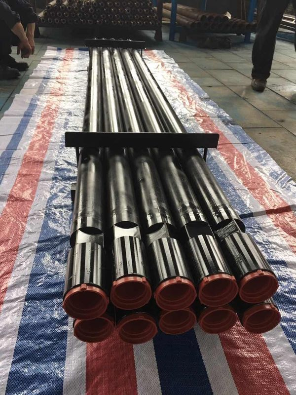 API REG Standard DTH Drilling Tools Drill Pipe Dia 76mm Drill Tube Length 3000mm
