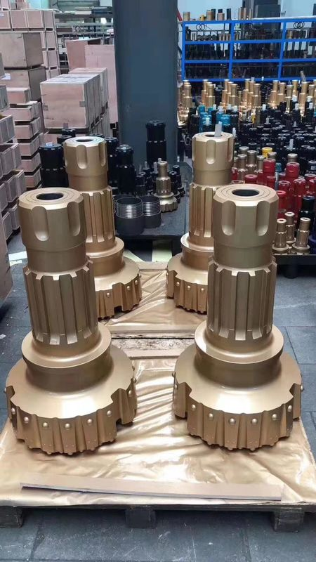 High Penetration DTH Drill Bits High Air Pressure DTH Hammer 254mm - 381mm