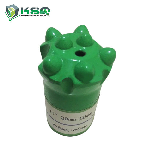 Tapered Button Drill Bit For Small Hole Rock Drilling 7 11 12 Degree
