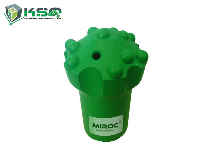Dome Retractable Drill Bit T45 Spherical / Ballistic Buttons Drifting Tunneling