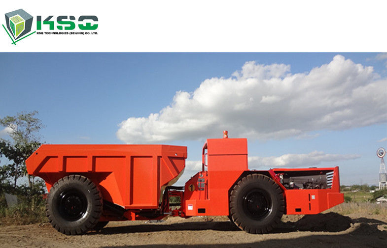 Underground Mining 10 Ton Low Profile Dump Truck Wiht DEUTZ Engine