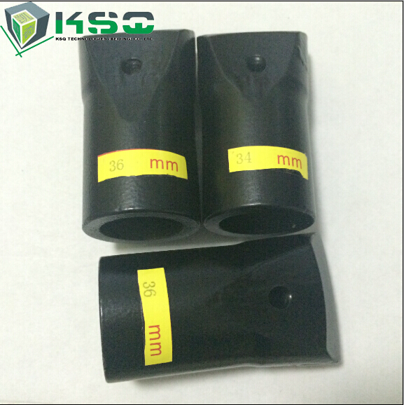 Black STOCK Small Diameter Taper Chisel Drill Bits For Granite Quarry